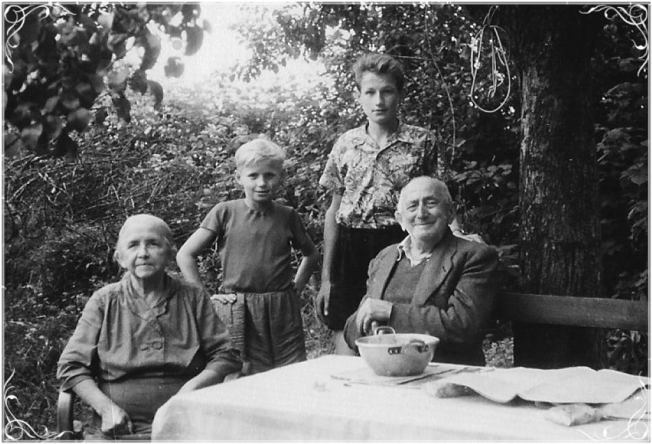 Norberts farföräldrar
