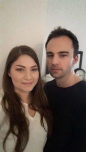 Malin Schaub och Kim