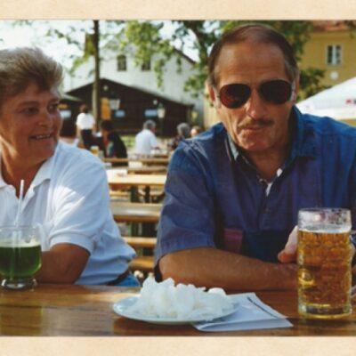 Norbert och Christina i Berlin