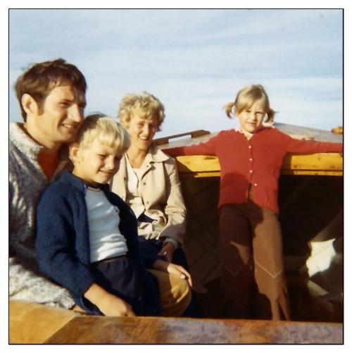 På utflykt till Kosteröarna
