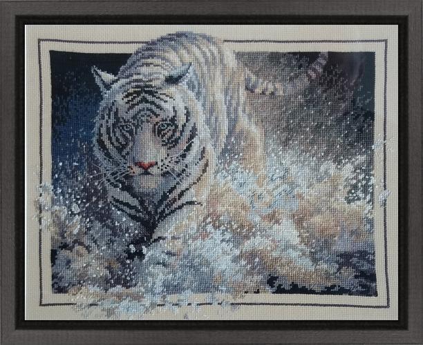 Broderiet-Tigern